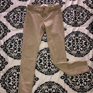 Hollister super skinny khaki pants